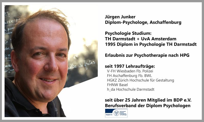 Jürgen Junker Diplom Psychologe Aschaffenburg, Paarberatung, Paarcoaching, Paartherapie